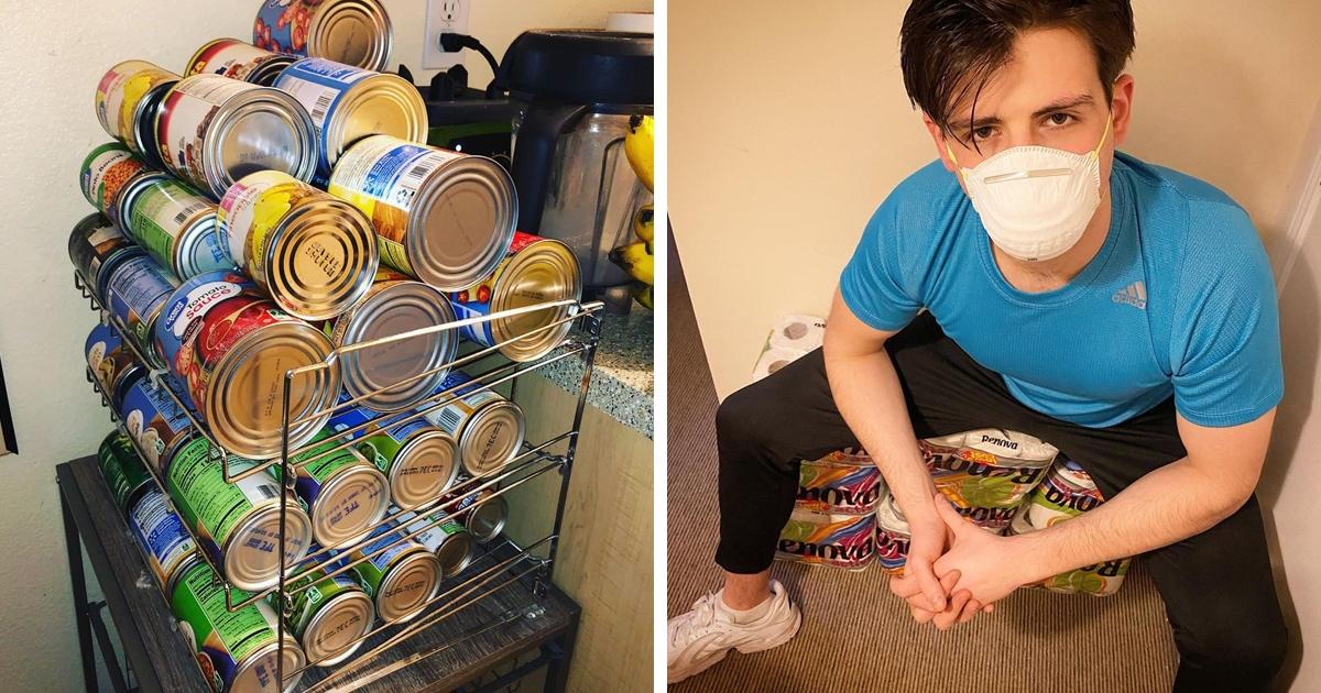 Пользователи сети показывают, как готовятся к карантину из-за коронавируса, чтобы выжить не выходя из дома