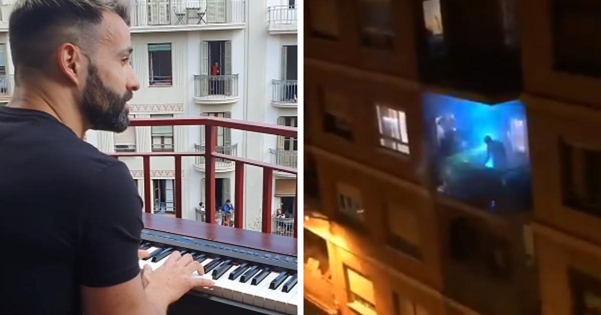 Поют, танцуют на балконах и не теряют оптимизм: чем занимаются испанцы и итальянцы во время карантина