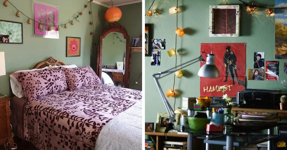 Девушка показала спальню, где будет коротать карантин, и многие влюбились. Но где-то мы эту комнату уже видели