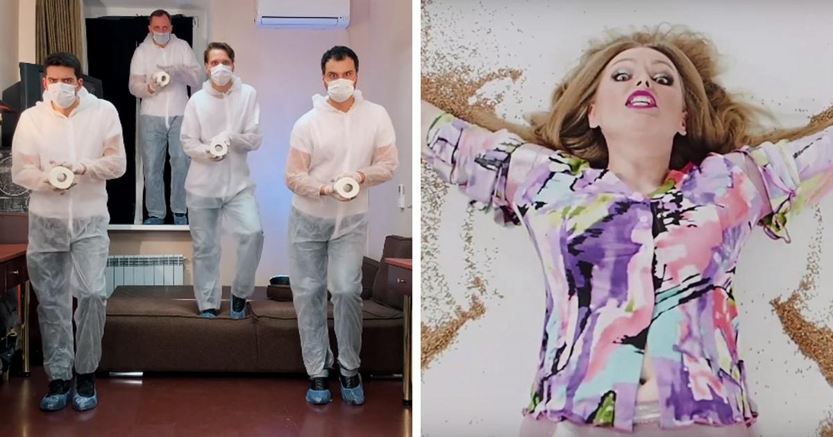 CorUNOvirus: россияне делают пародии на хит Little Big в духе карантина. Гречка и туалетная бумага в деле
