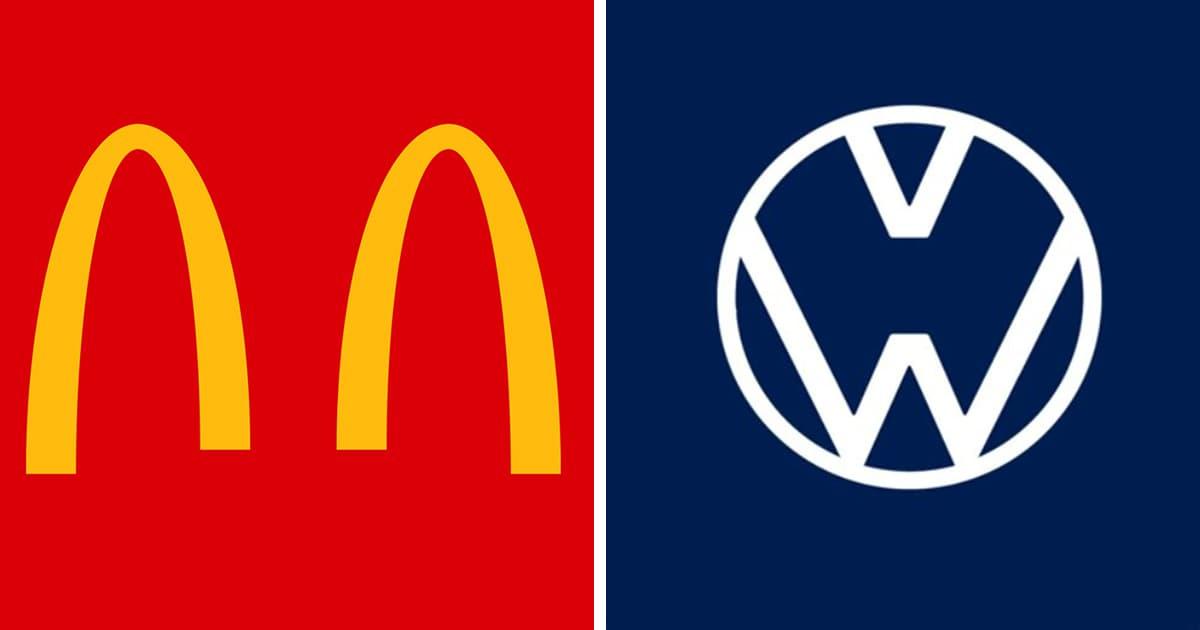 Российские и зарубежные компании изменили свои логотипы. Они призывают людей соблюдать правила карантина