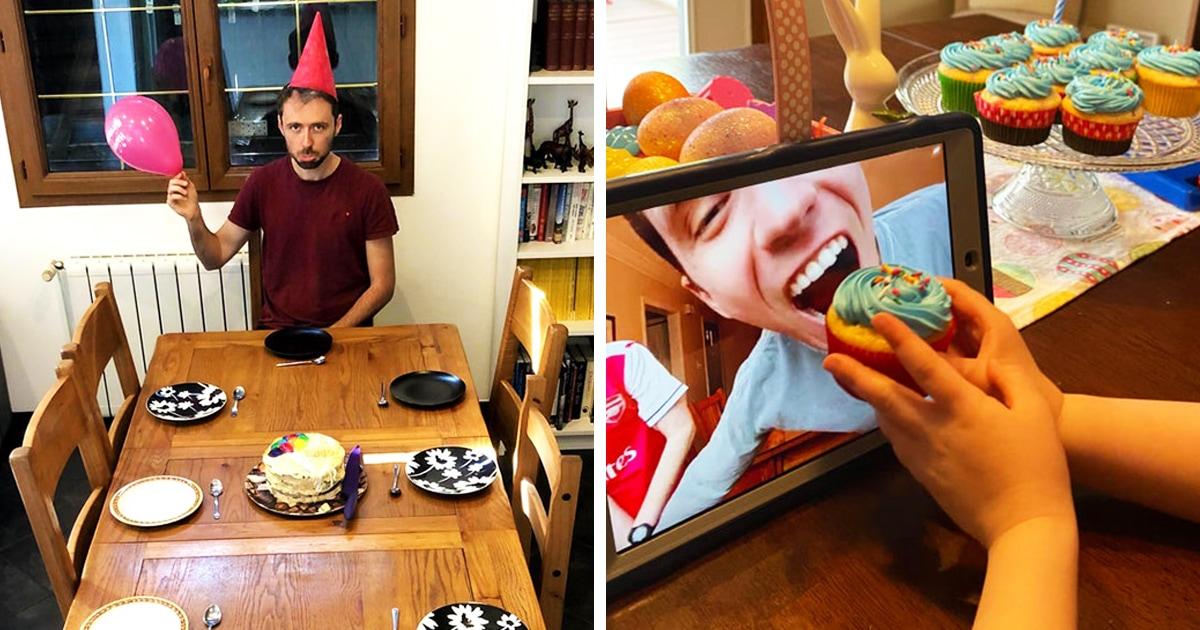 15 пользователей сети, которые оригинально отметили свой день рождения, находясь в изоляции