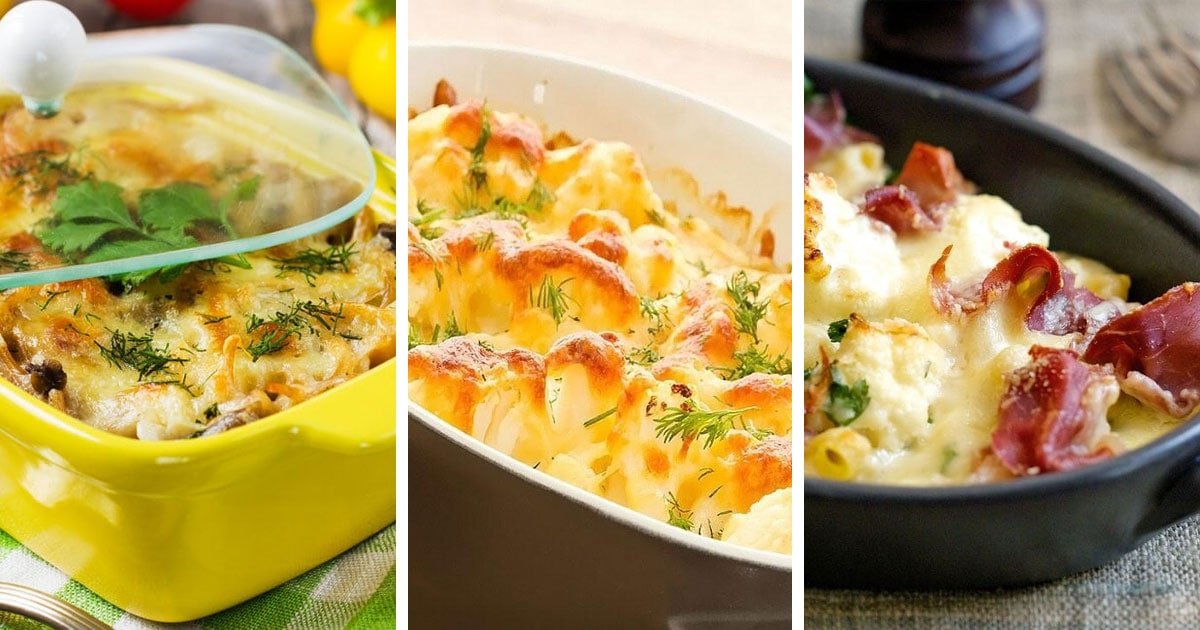 10 простых рецептов самых вкусных запеканок из цветной капусты