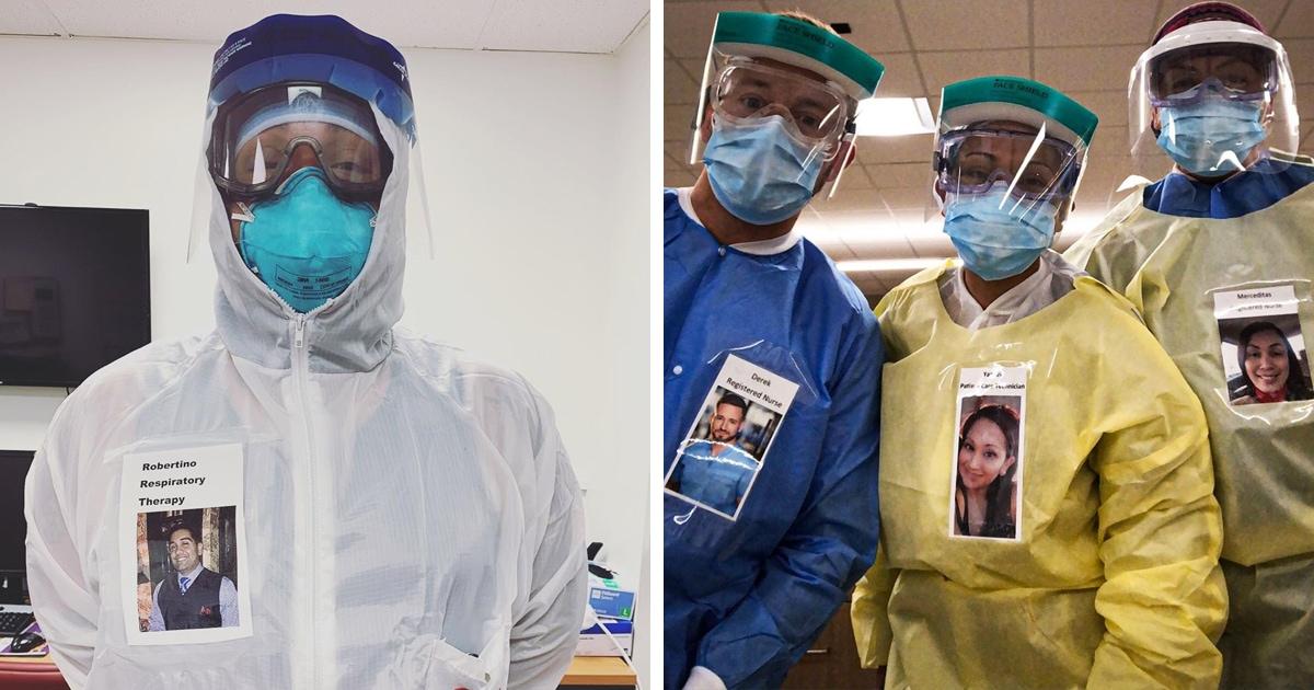 Врач придумал, как улыбнуться пациентам даже в маске. Его идея оказалась так хороша, что её переняли и другие