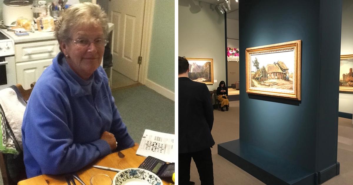Британке предложили подарок: картину или колокольчик. Она выбрала второе, и зря, ведь картина стоила £12 млн