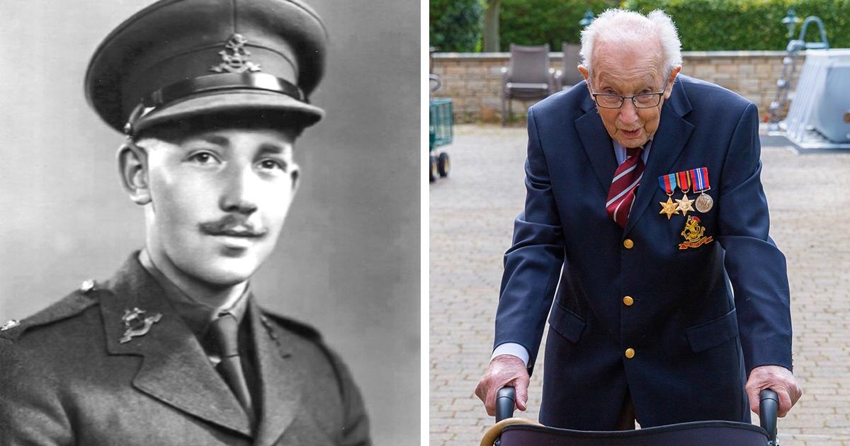 99-летний британский ветеран собрал £12 млн на борьбу с COVID-19 и за пару дней стал национальным героем