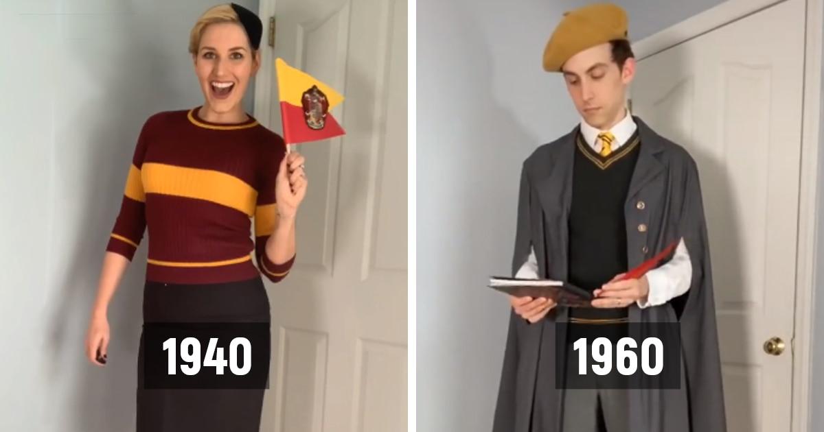 Фанаты поттерианы показали, как менялась форма в Хогвартсе в течение 100 лет. Их работу оценила сама Роулинг