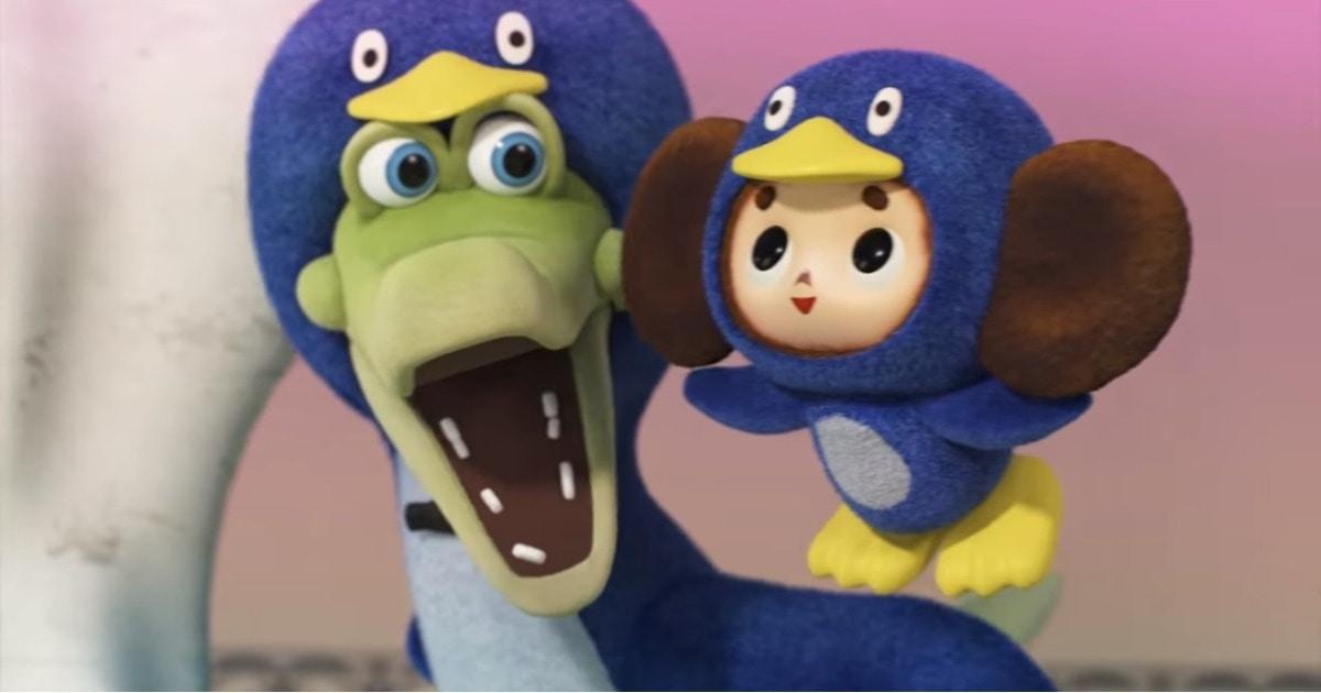 В Японии вышла местная версия мультика про крокодила Гену и Чебурашку. Самобытная, но с уважением к оригиналу