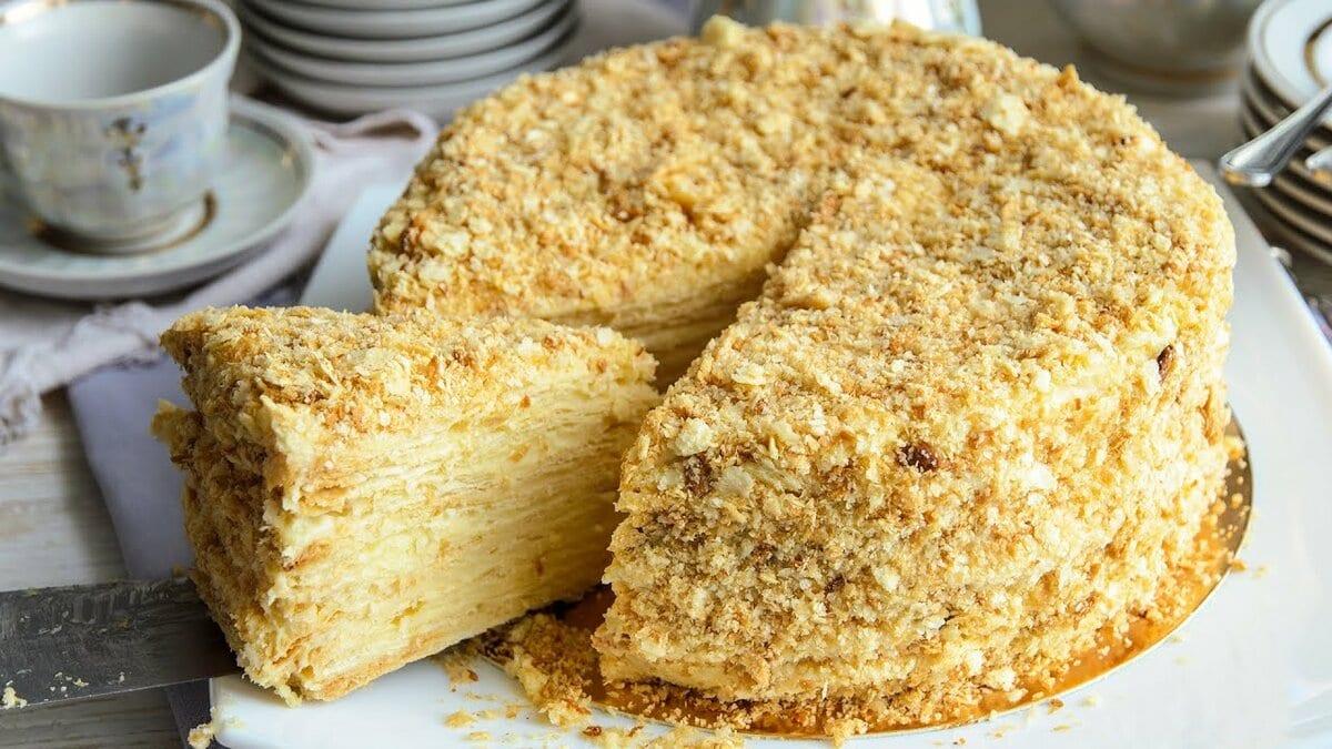 Торт Наполеон: 49 пошаговых рецептов с фото | Foodini