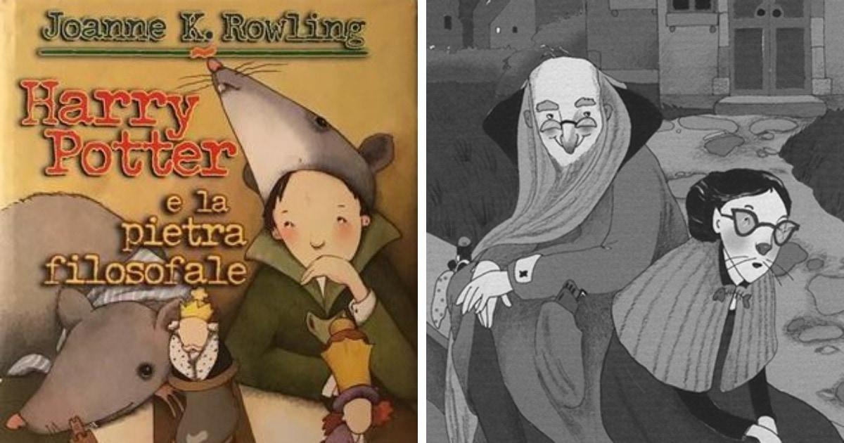 В Твиттере обсуждают первую итальянскую обложку Гарри Поттера, и она странная. Но художница всё объяснила
