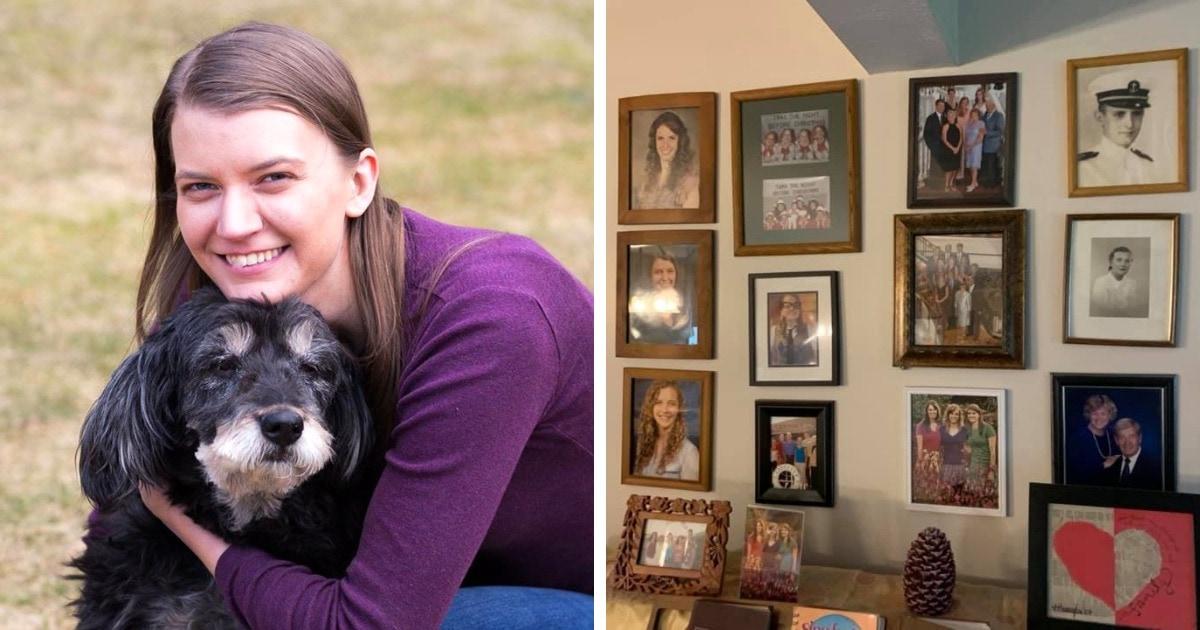 Дочь ежедневно заменяла одно семейное фото на стене рисунком от руки. Родители заметили это лишь на 11-й день