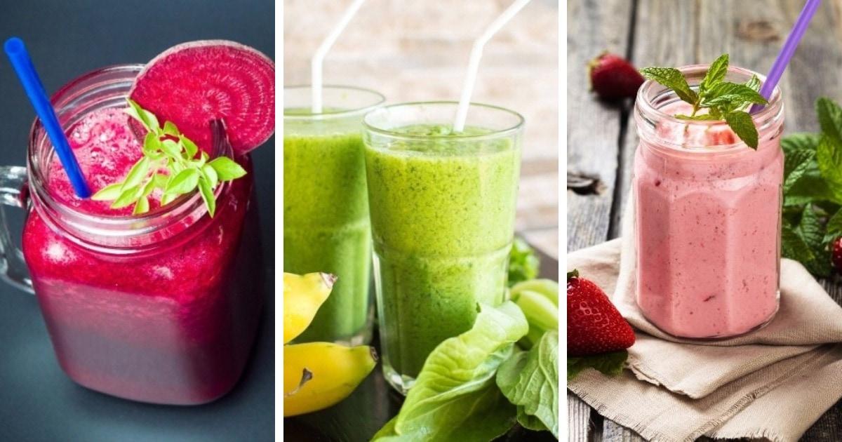 10 отличных рецептов самых вкусных смузи – максимум пользы при минимуме калорий