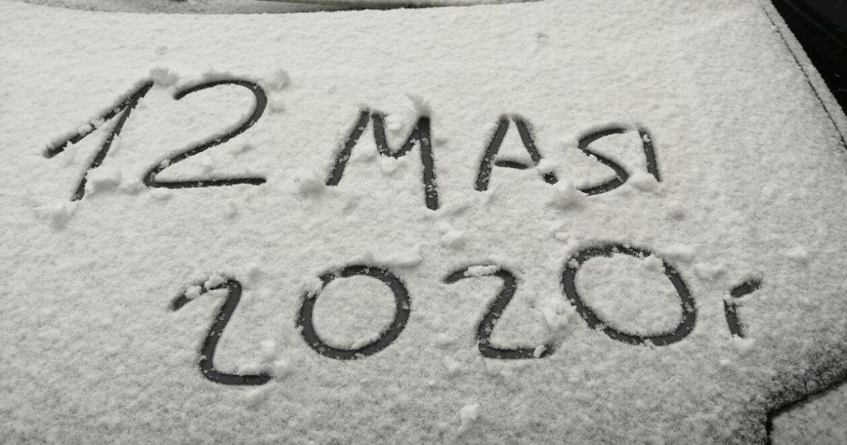 В мае во многих регионах России внезапно выпал снег. Пользователи соцсетей не могли оставить это без внимания
