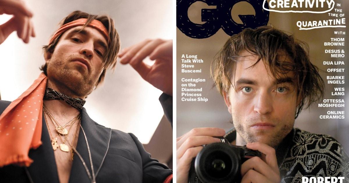 Роберт Паттинсон снял сам себя для журнала GQ и идеально показал состояние человека, сидящего на карантине