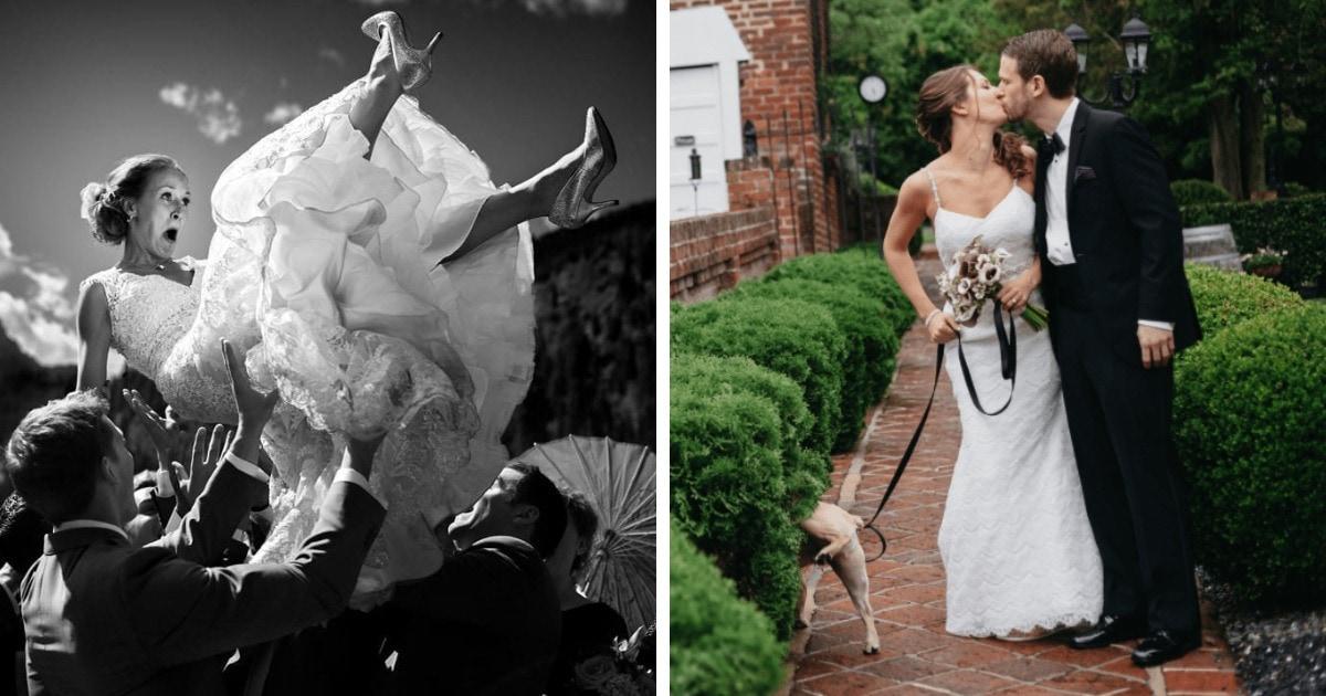 15 смешных и неловких свадебных фотографий, которые от своей живости стали только круче
