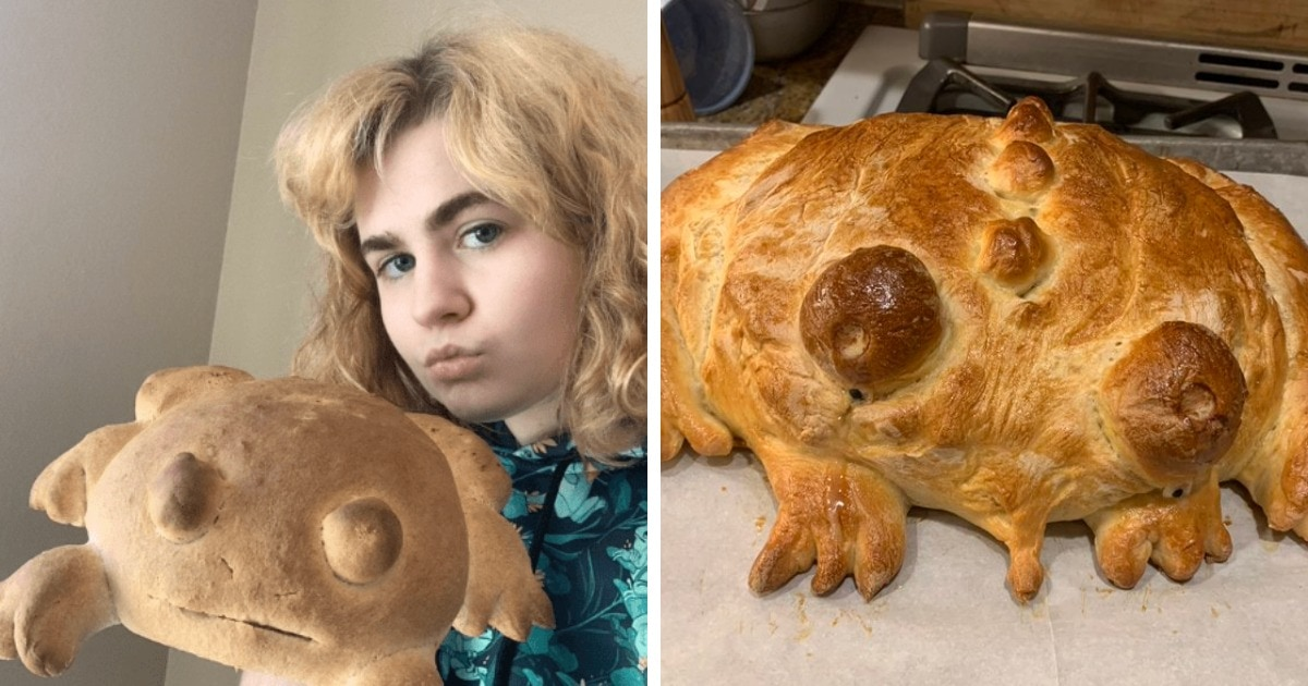Пользователи сети пекут хлеб в форме лягушек, и это тренд, который иногда заканчивается провалом