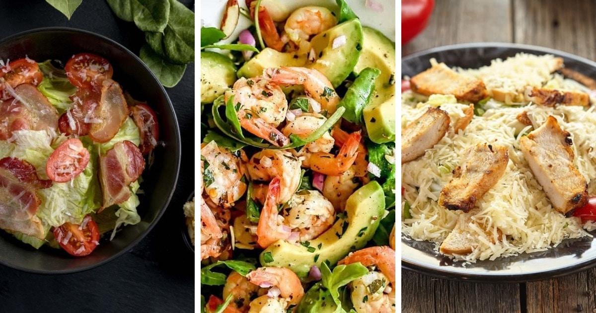 10 простых и вкусных рецептов салата «Цезарь»