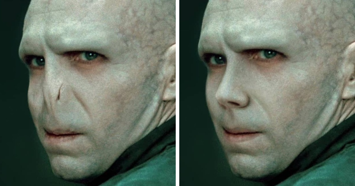 Как выглядели бы знаменитые персонажи, будь у них обычные человеческие носы