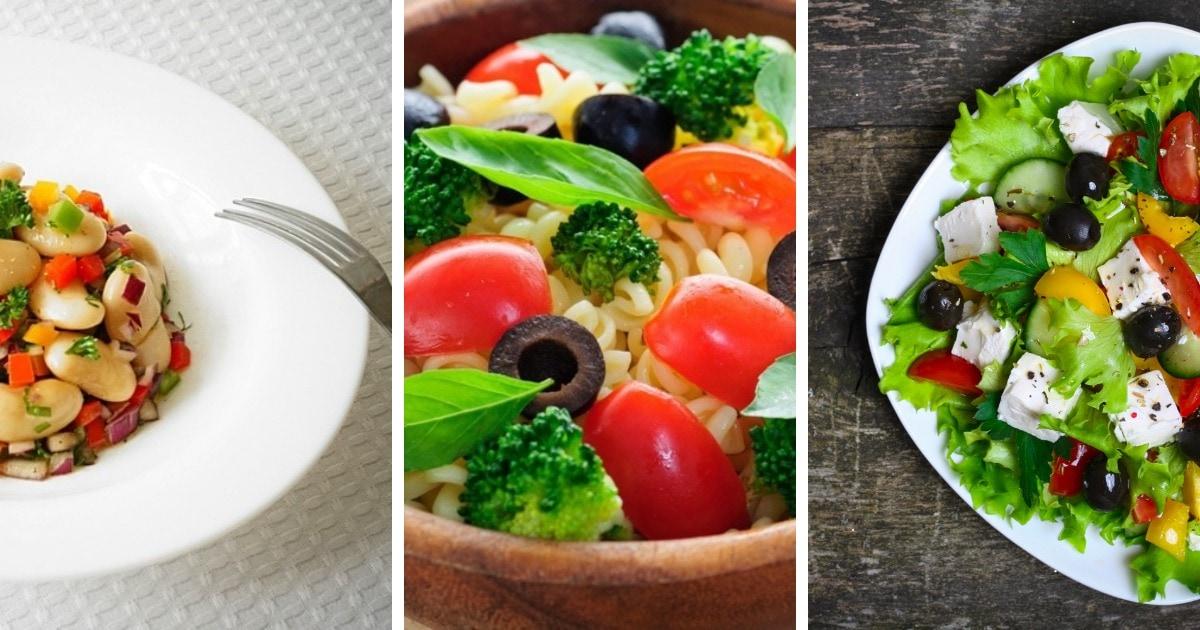 10 рецептов самых вкусных постных салатов со всего мира