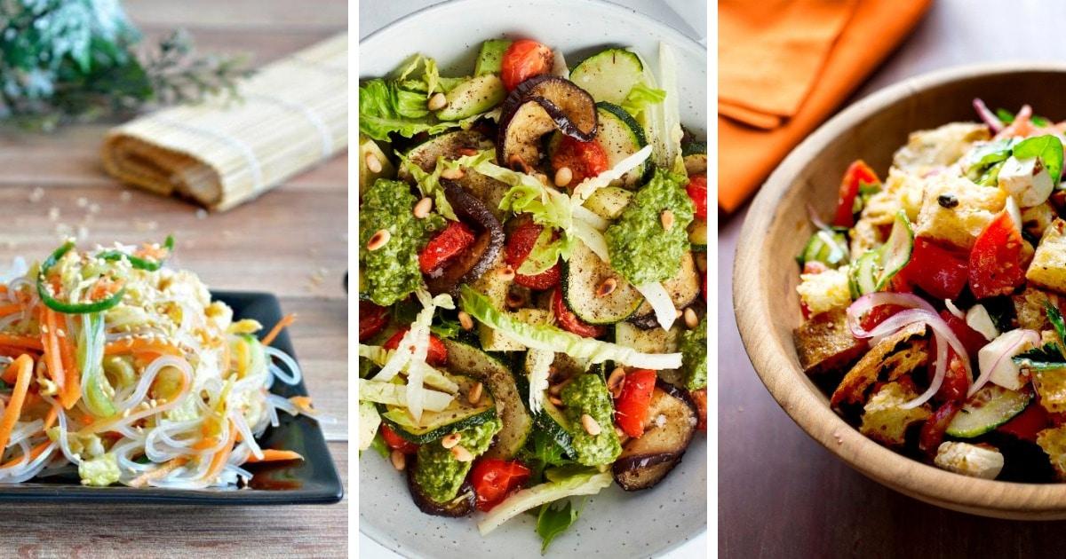 Витамины круглый год – 10 вкусных овощных салатов