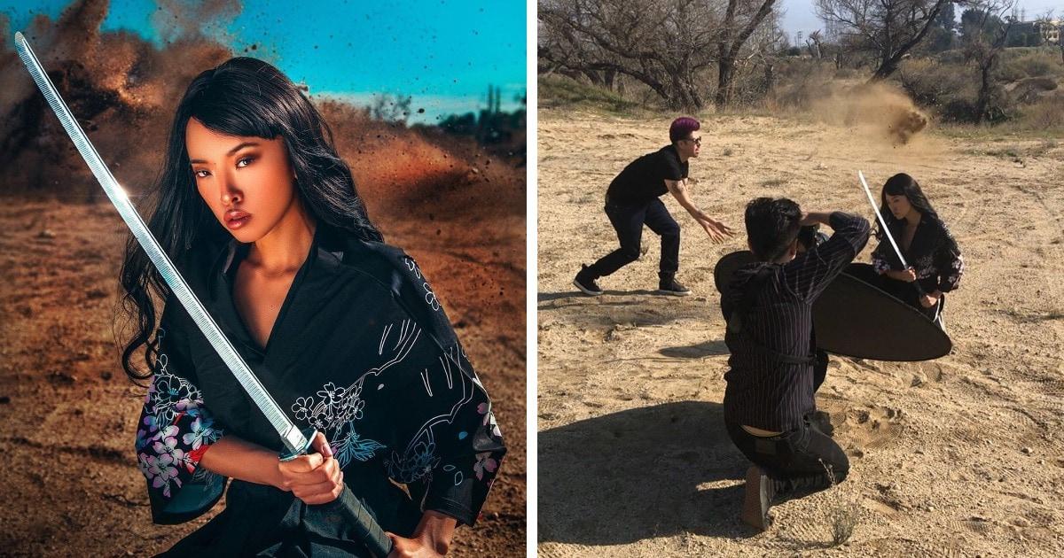 Фотограф показывает, как он создаёт креативные снимки и что на самом деле происходит за кулисами фотосессий