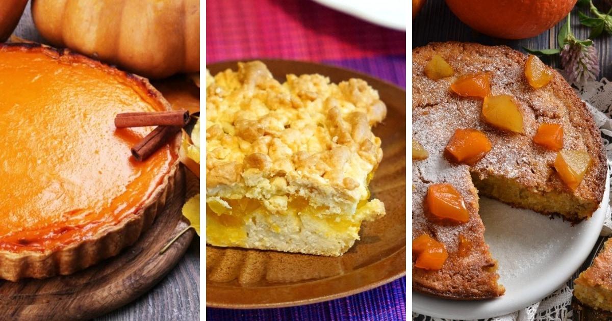 10 самых простых рецептов вкусного тыквенного пирога