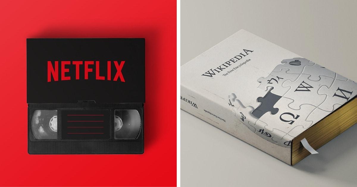 Как бы выглядели современные приложения и сервисы, появись они в 80-х годах прошлого века
