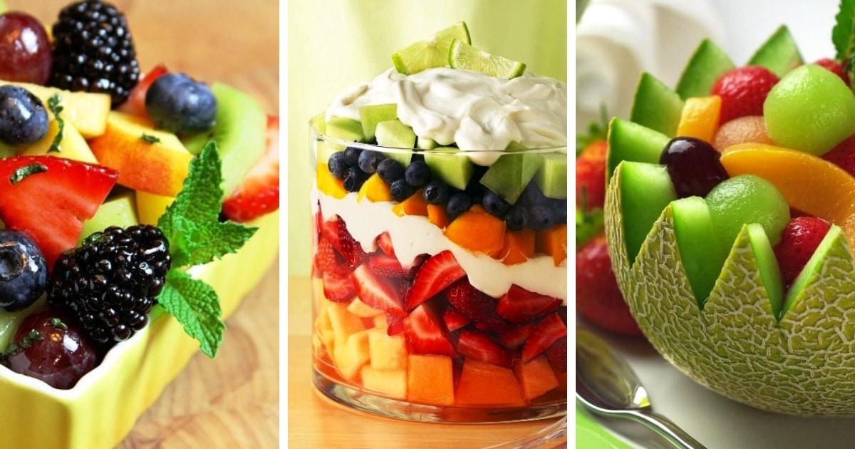 10 полезных и простых рецептов фруктового салата
