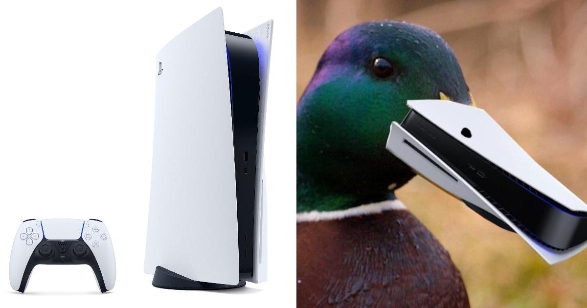 Компания Sony показала новую приставку PlayStation 5. В сети её чёрно-белый дизайн тут же превратили в мем