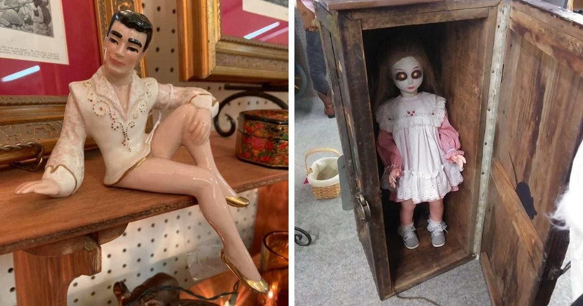 15 безумно странных и необычных вещей, которые стали сокровищами барахолок и секонд-хендов