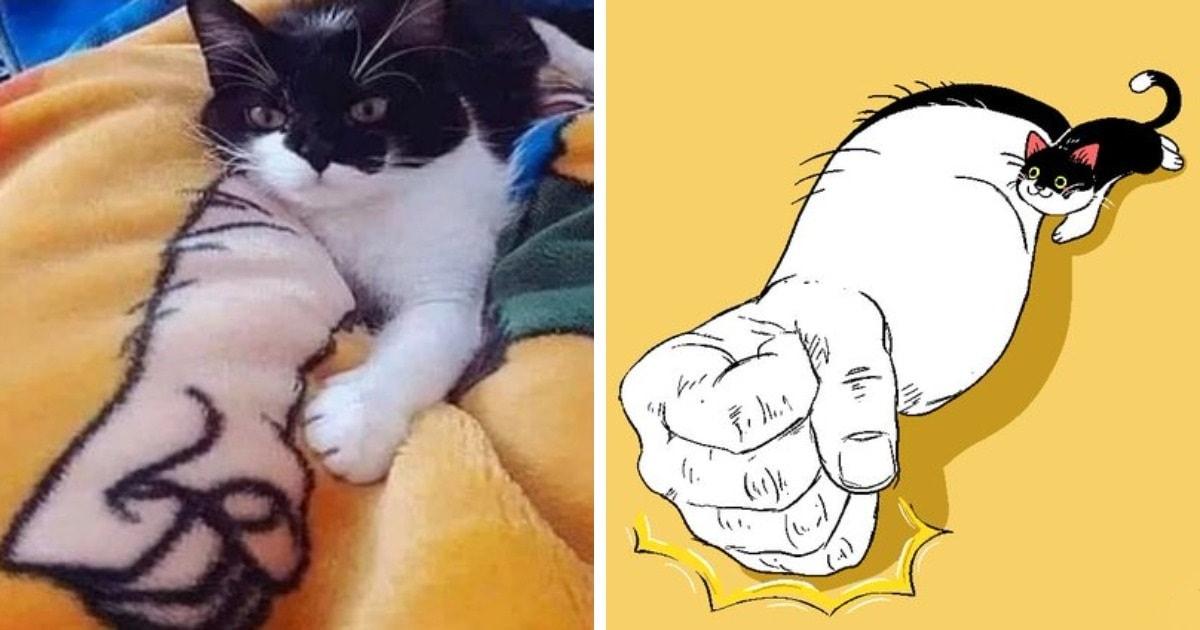 Французский художник превращает животных из мемов в анимации и рисунки, и от этого они становятся только круче
