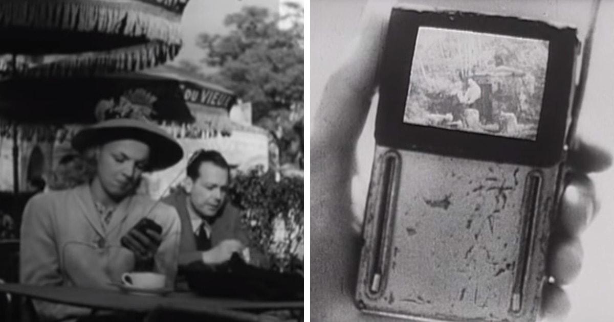 В сети обнаружили старый ролик, точно предсказавший появление сегодняшних технологий. Он был снят в 1947 году!