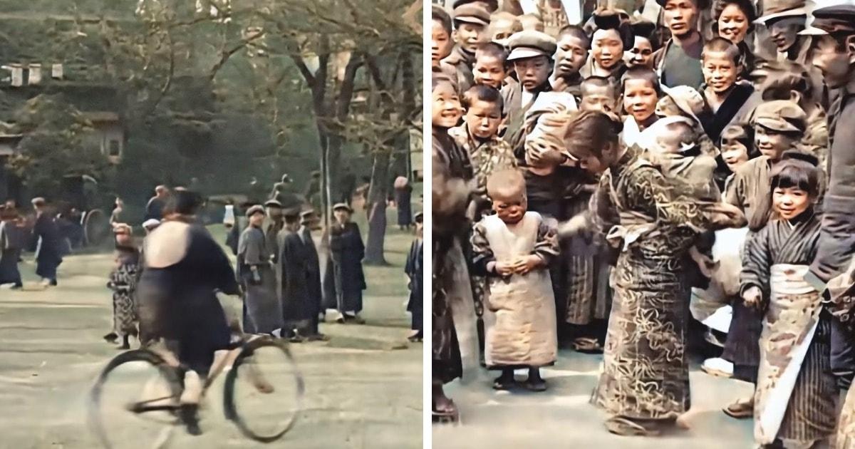 Россиянин восстановил видео из Токио 1913-1915 годов, показав, как этот город выглядел чуть больше века назад