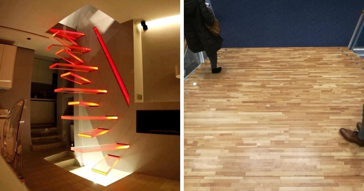 14 кровожадных лестниц, которые спроектированы так, словно у них всего одна цель: убивать