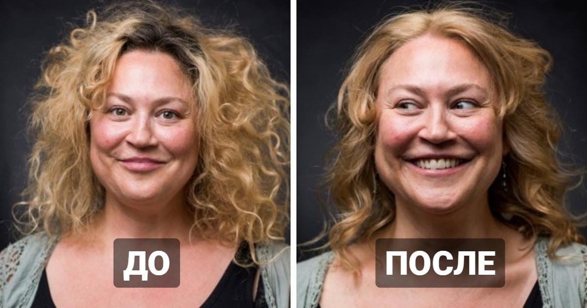 Парикмахерская показала, как выглядят сидевшие в самоизоляции люди после первой стрижки и окрашивания