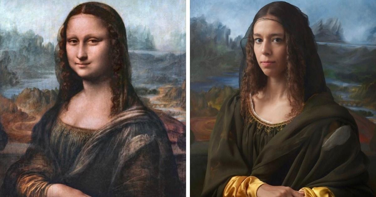 Британский фотограф показал, как выглядят потомки известных исторических личностей, живущие в наши дни