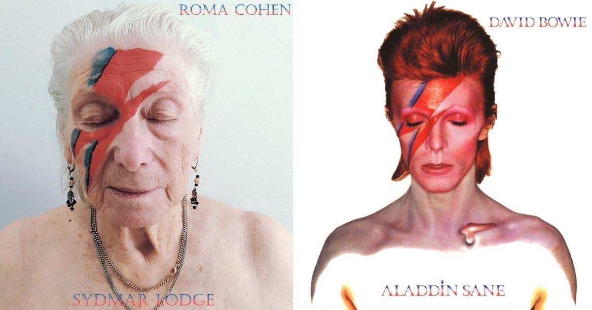 Жители дома престарелых косплеят обложки культовых альбомов и тем самым доказывают, что они ещё молоды душой