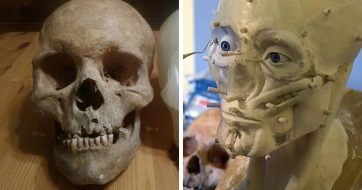 Исследователи нашли останки и по ним восстановили внешность мужчины, жившего в польском городке 500 лет назад