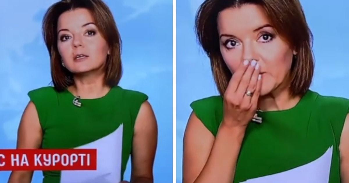 У телеведущей выпал зуб прямо во время эфира. И люди восхищены тем, как профессионально она решила проблему