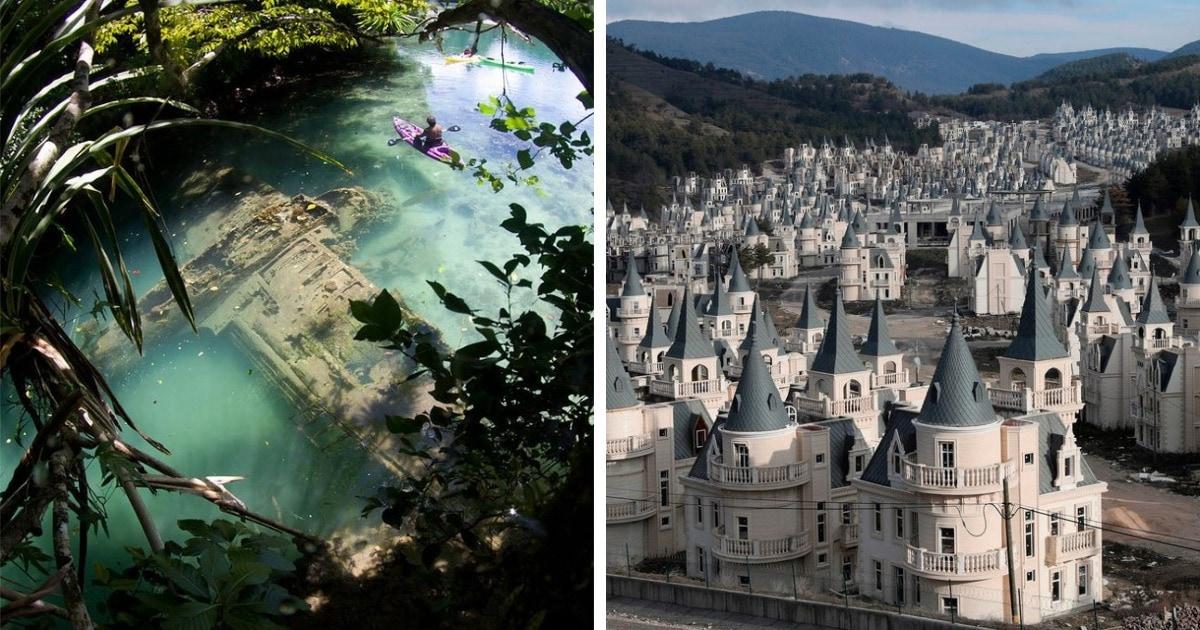 16 фотографий заброшенных мест, которые без присутствия людей стали только атмосфернее