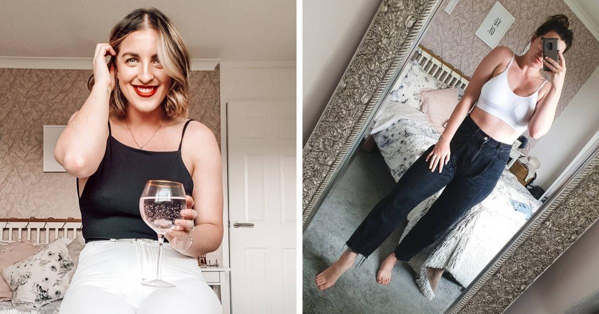 Блогер высмеяла всю абсурдность размеров одежды, показав, как по-разному сидят 3 пары джинсов разных брендов