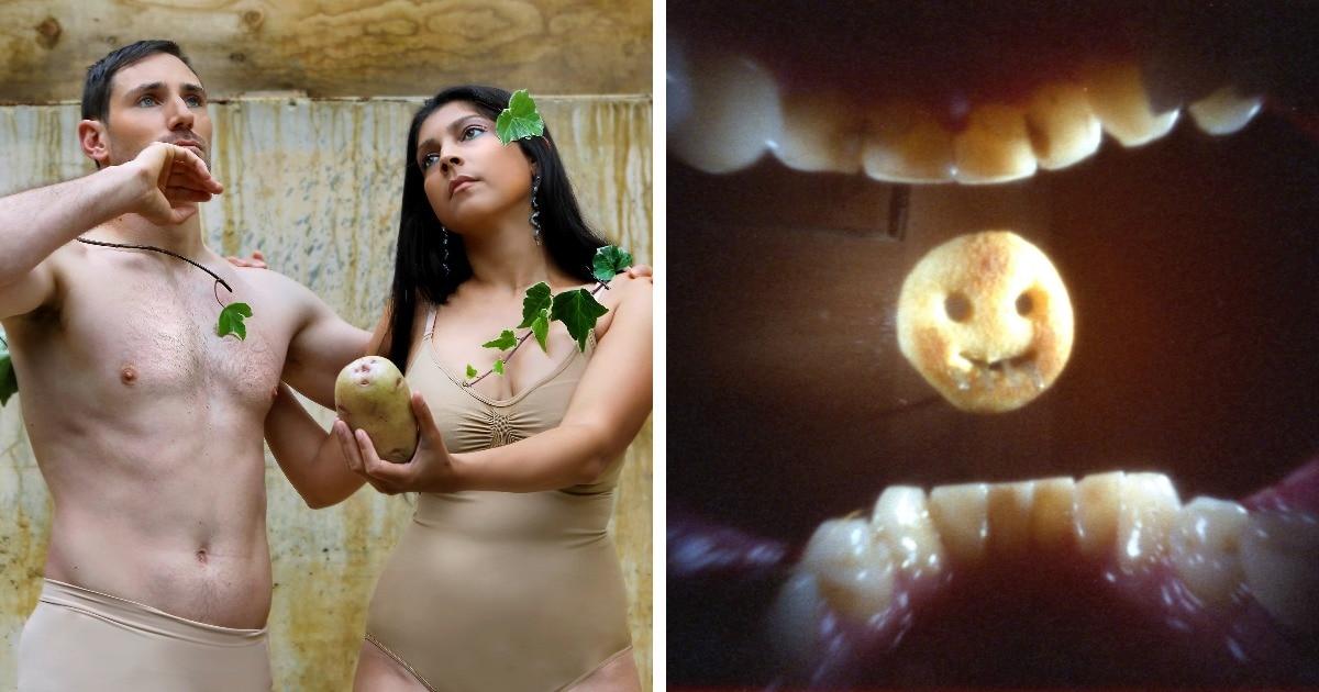 В Великобритании прошёл фотоконкурс на самое оригинальное изображение картофеля. Победил клубень из барбер-шопа