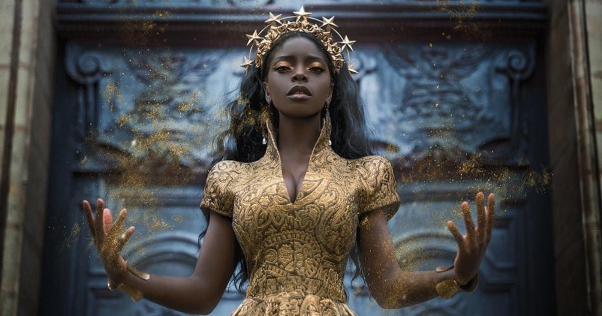 20 фэнтези-снимков темнокожих моделей, которые доказывают, что магия красоты существует вне расы