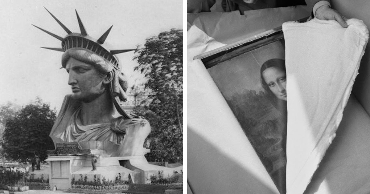 Исторические фотографии знаменитых объектов, переживших события, о которых знают не все