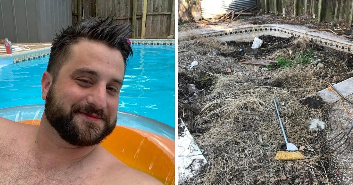 Американец купил дом, чтобы его перепродать, но передумал. Дождь открыл ему секрет, который прятался во дворе