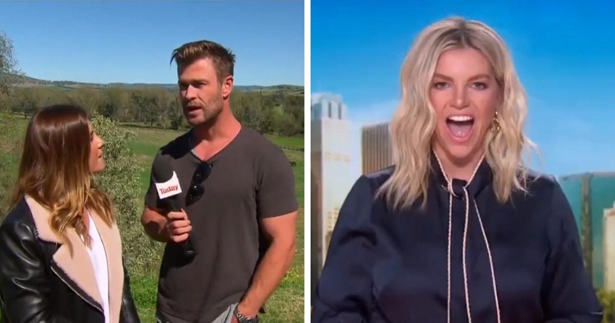 Репортёрша из Австралии рассказывала о погоде, но её внезапно прервал Тор. Реакция ведущих сильнее любых слов
