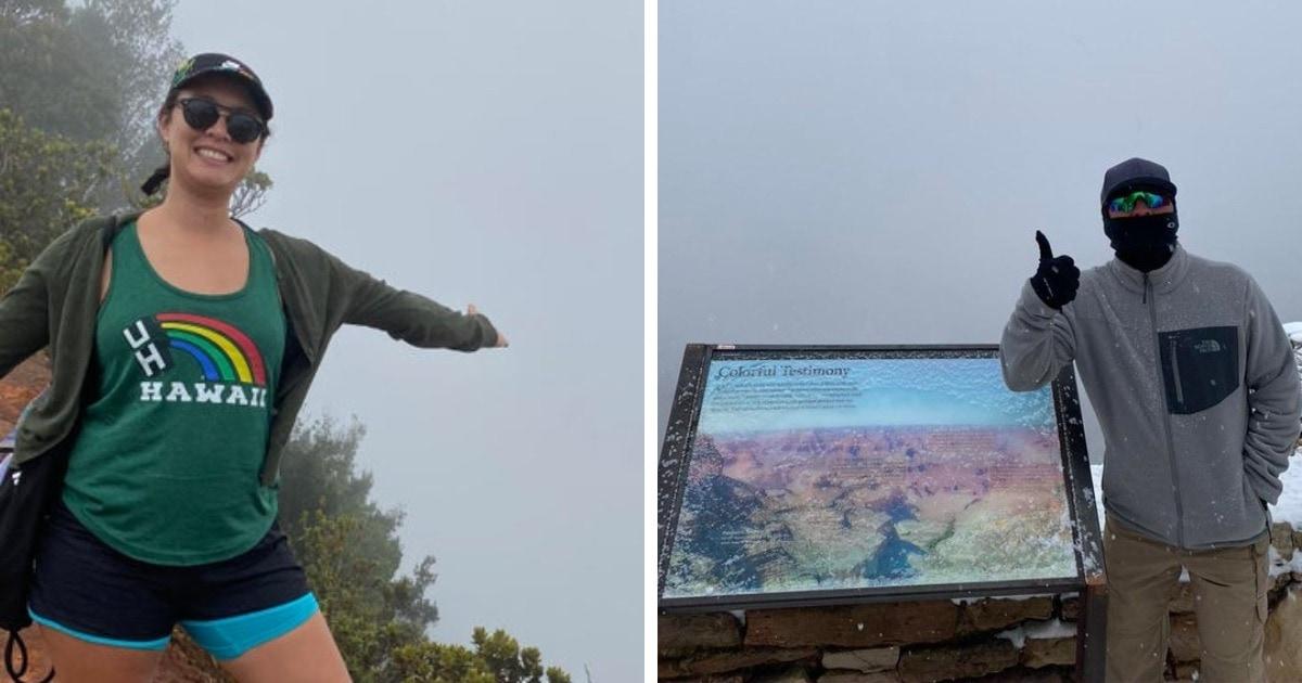 16 провальных снимков от путешественников, которые хотели насладиться чудесным видом, но не увидели ничего