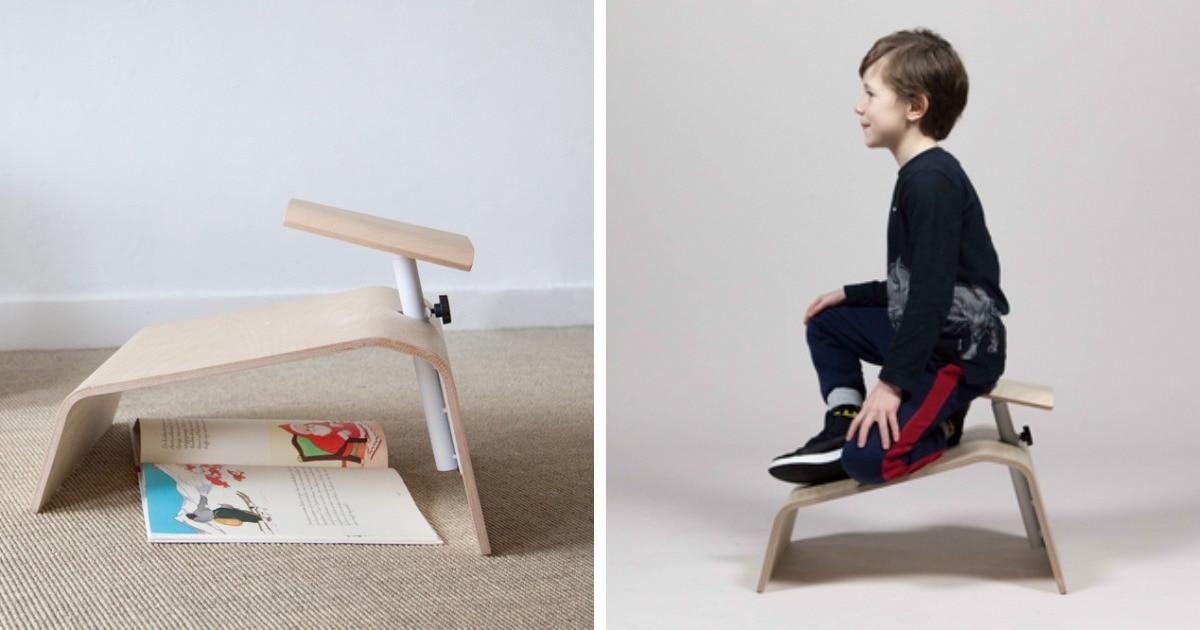 Дизайнер из Нидерландов создал школьные стулья, полезные для осанки. Оказалось, детям не должно быть удобно!