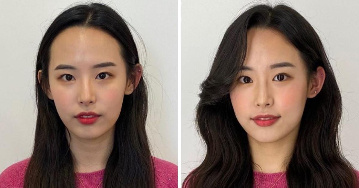 16 работ от парикмахера из Сеула, которая показывает, как девушек меняет правильная укладка и причёска