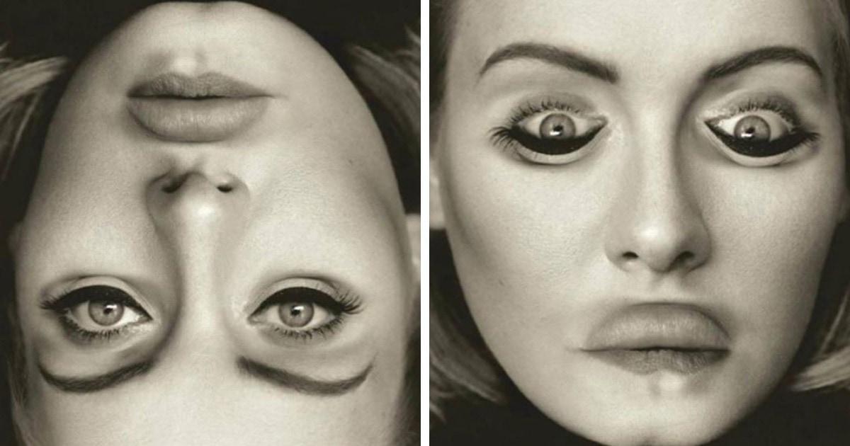 «Эффект Тэтчер»: психолог показала на знаменитостях, как легко обмануть наш мозг с помощью перевёрнутых лиц